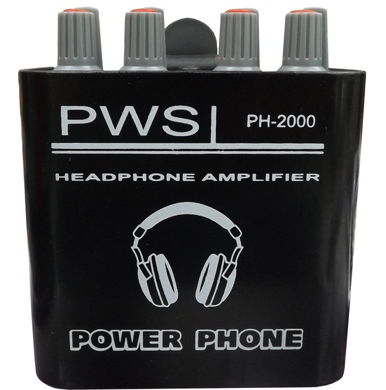 Power Play Ph2000 Pws Amplificador Fone De Ouvido In Ear