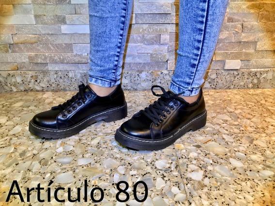 Zapato Acordonado Urbano Alta Moda