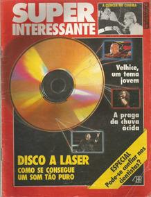 Super Interessante Ano 4 Nº 5 1990 Disco A Laser