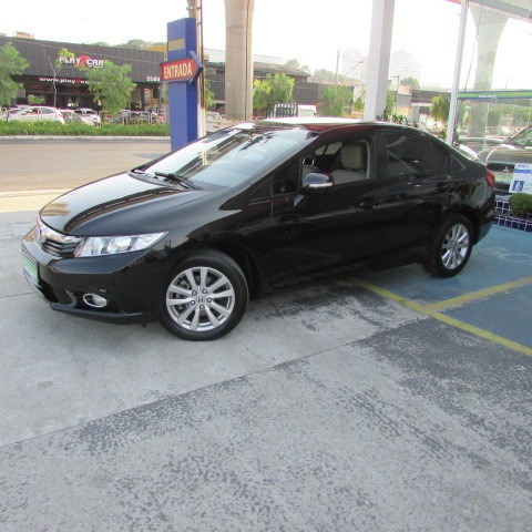 Civic 1.8 Lxl At 2013 Preto