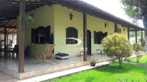 Chácara Com 3 Dormitórios À Venda, 800 M² Por R$ 450.000,00 - Itaocaia Valley (itaipuaçu) - Maricá/rj - Ch0005