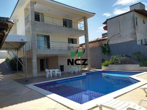 Imagem 1 de 21 de Casa Com 5 Dormitórios, 510 M² - Venda Por R$ 1.850.000,00 Ou Aluguel Por R$ 12.000,00/mês - Vilas Do Atlântico - Lauro De Freitas/ba - Ca3522