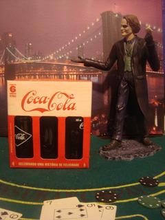 6 Garrafas Vintage Coca Cola Edição Comemorativa 100 Anos