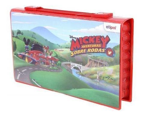 Maleta De Pintura Mickey Mouse Aventura Sobre Rodas 42pc 084