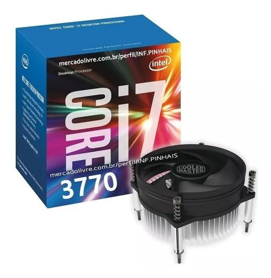 Processador Intel Core I7 3770 3.4 - 3.9ghz 8mb 1155 Cooler