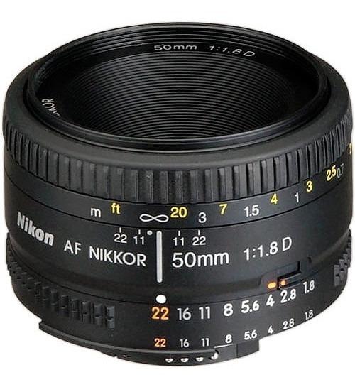 Lente Nikon 50mm F/1.8d Af Fx Nikkor Orig Garantia 1 Ano Nfe