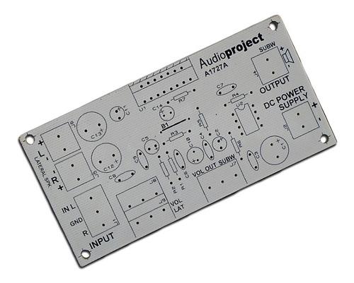 Circuito Impreso Para Armar Amplificador 2.1 11+11+38 Watts