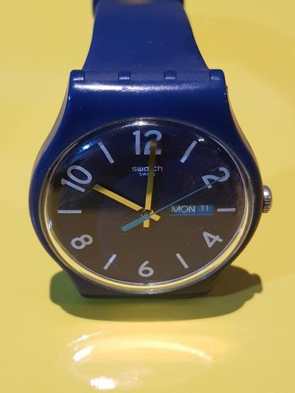 Swatch Suon705 Originals Backup Blue Unissex Ótimo Estado