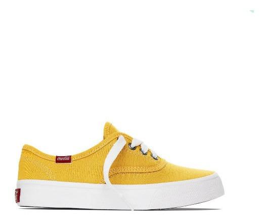 Tênis Coca Cola Kick Summer Amarelo - Cc0471