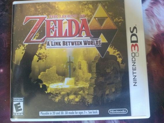 Jogo Zelda A Link Between Worlds - Nintendo 3ds - Semi Novo.