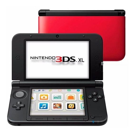 Console Nintendo 3ds Xl Vermelho Nintendo Pronta Entrega