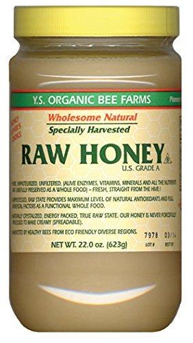 Y.s. Miel Cruda De Eco Bee Farms - 22 Oz