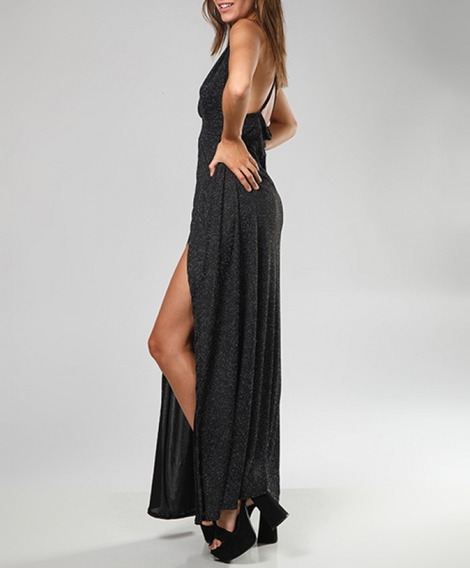 Vestido Largo Lúrex