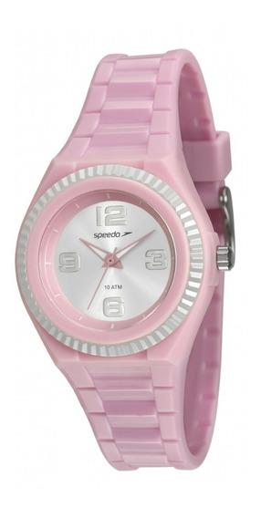 Relógio Infantil Feminino Speedo 80609l0evnp1 Analógico Rosa