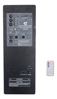 Modulo Amplificador 100w Recarcable Bluetooth Fm Usb Sd