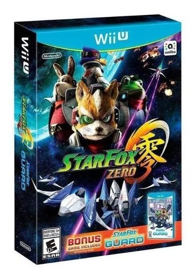 Star Fox Zero + Star Fox Guard Wii U Lacrado