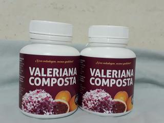 Composto Valeriana Maracuja Melissa 1 Frasco 60 Cápsulas