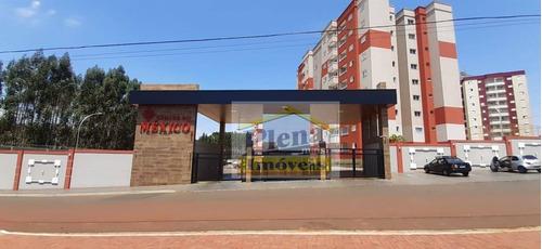 Imagem 1 de 13 de Apartamento Com 2 Dormitórios Para Alugar, 58 M² Por R$ 1.300,00/mês - Parque Emília - Sumaré/sp - Ap1213