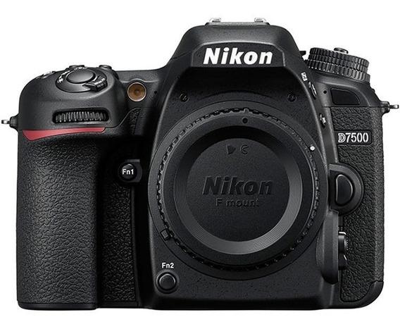 Camara Reflex Nikon D7500 Cuerpo Body Sd 16 Fact A O B