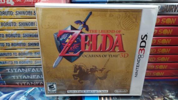 The Legend Of Zelda Ocarina Of Time 3ds Lacrado Black Label