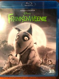 Blu-ray Frankenweenie 3d / De Tim Burton
