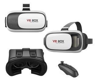 Gafas Realidad Virtual 3d Vr Box + Control Bluetooth Juegos