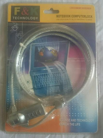 Guaya O Candado De Seguridad Para Lapto