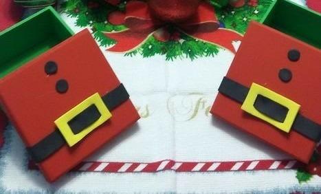 20 Caixinha Em Mdf Lembrançinhas Para O Natal