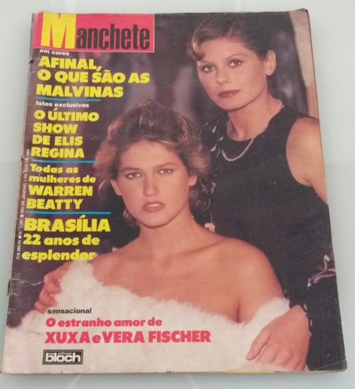 Revista Manchete Estranho Amor Xuxa E Vera Fischer