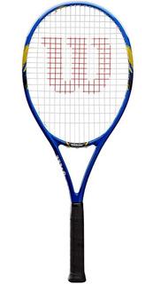 Raqueta Tenis Wilson Us Open 103 Grafito Grip 3 + Funda Regalo Tennis