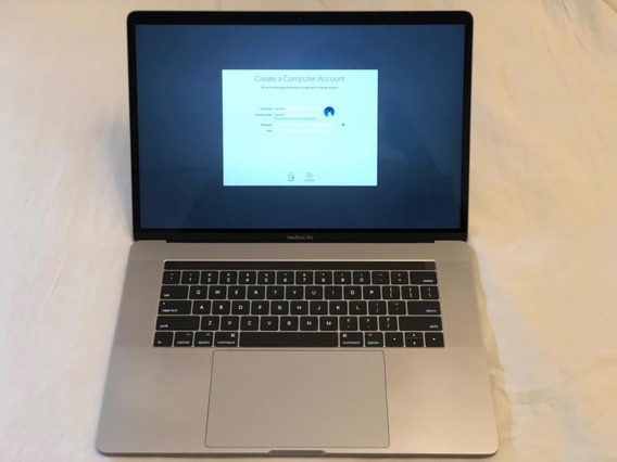 Macbook Pro 15 2018 500gb 16gb