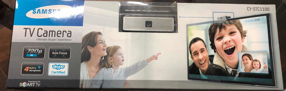 Câmera Para Smart Tv Samsung Skype Cy-stc1100 (lacrada)