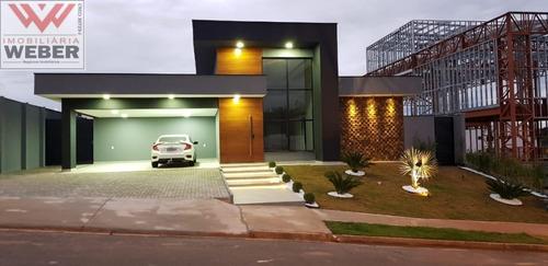 Casa No Cond. Saint Patrick Com 3 Suítes Venda, 382 M² Por R$ 2.450.000,00 - 1015