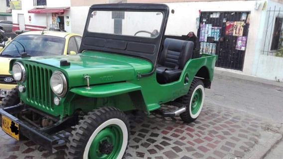 Willys Cj2a Año 1951 Motor Culata Plana, Original