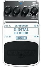 Pedal Para Guitarra Behringer Dr600 Digital Stereo Reverb