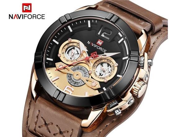 Relógio Masculino Esportivo Naviforce 9162 Promoção