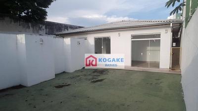 Casa Para Alugar, 115 M² Por R$ 3.500/mês - Jardim Bela Vista - São José Dos Campos/sp - Ca2679