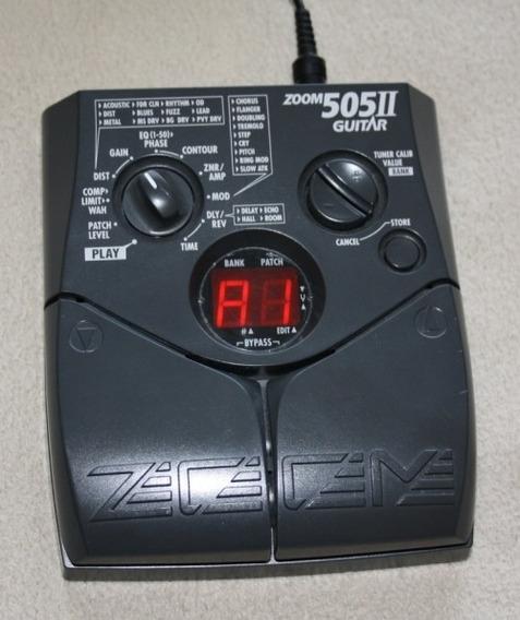 Zoom 505 2 Pedaleira Guitarra Usada Cod 004