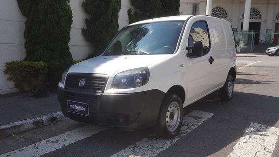 Fiat Doblo Cargo 1.4 Flex 2016 Branco Único Dono