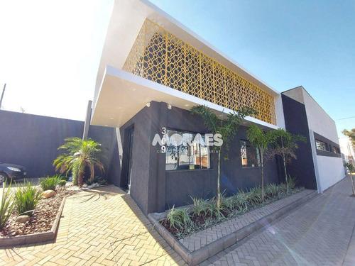 Imóvel Comercial Para Alugar, 188 M² Por R$ 8.000/mês - Jardim Aeroporto - Bauru/sp - Sa0141