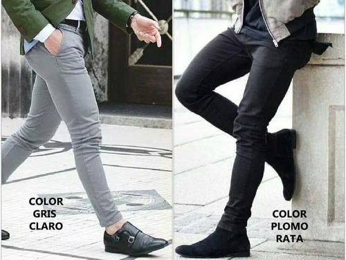 Pantalon Drill Pitillo De Colores Stech De Hombre 2018 Mercado Libre