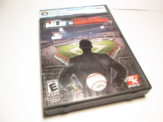 Games Pc / Dvd - Jogo 2k Sports Mlb Front Office Manager