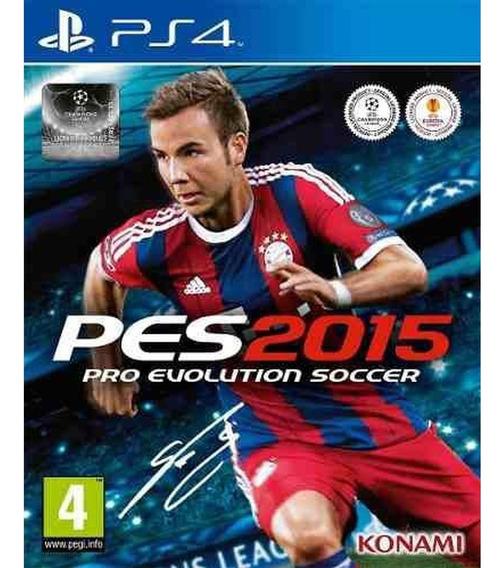 Game Ps4 Pro Evolution Soccer - Pes 2015