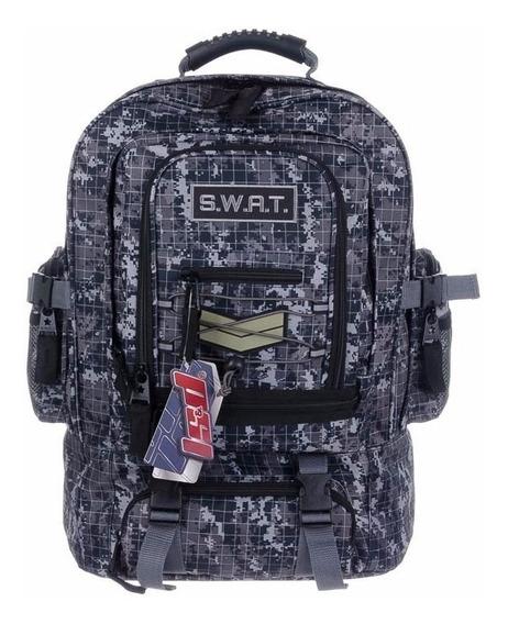 Mochila Swat Ls&d Camuflada Grande Nuevo Diseño