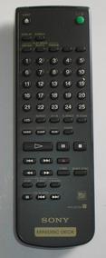 Controle Remoto Original Minidisc Deck Rm-d27m Sony+brinde