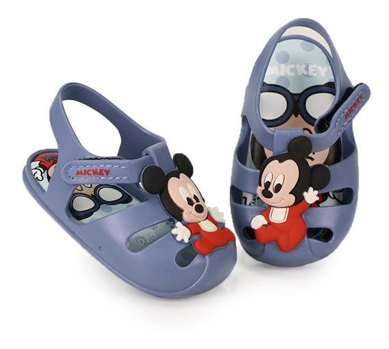 Sandália Rasteira Infantil Grendene Mickey Sweet Dreams