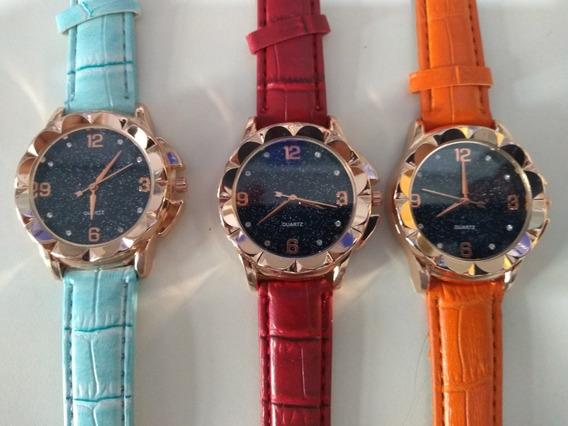 Kit C/ 20 Relógios Masculinos Femininos + Caixas Promoção