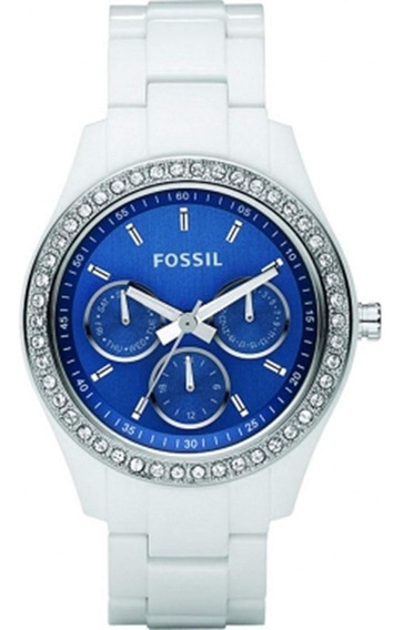 Relógio Fossil Feminino Branco Modelo Es2666
