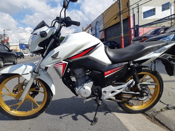 Honda Cg 160 Titan Ex Branca 10,800