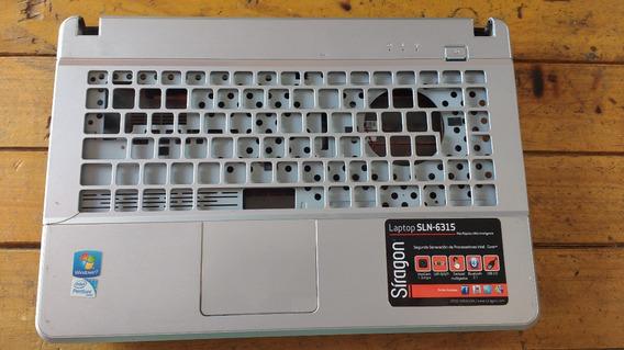 Carcasa Inferior Palm Rest Touch Pad Laptop Siragon Sln-6315